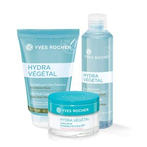 Set - Hydra Végétal Normal to Dry (with micellar water)